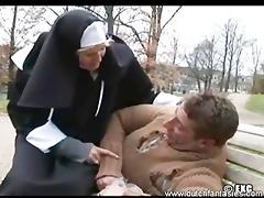 nun gave